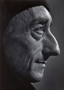 Jacques Cousteau por Yousuf Karsh