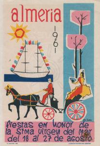 Almería 1961 _ 001 Portada del programa de fiestas _ luzdelsur