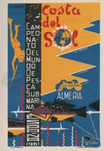 Almería 1961 _ 007 Campeonato Mundial de Pesca submarina _ albamar