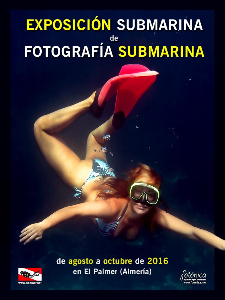2016 Exposición Submarina de Fotografía Submarina _ cartel